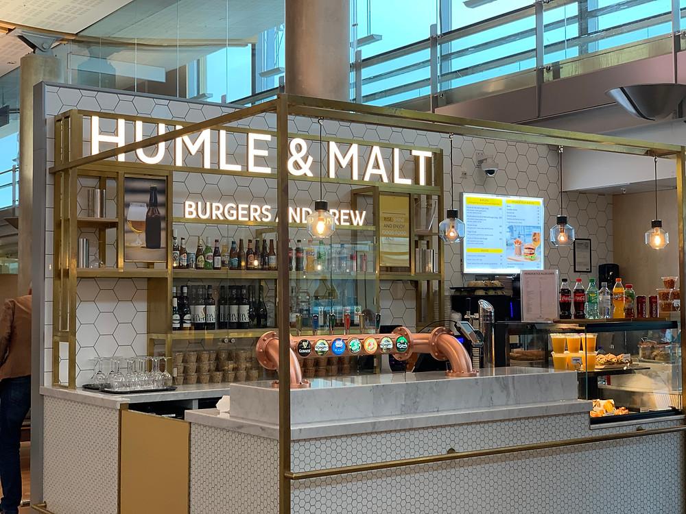 Humle & Malt på Gardermoen
