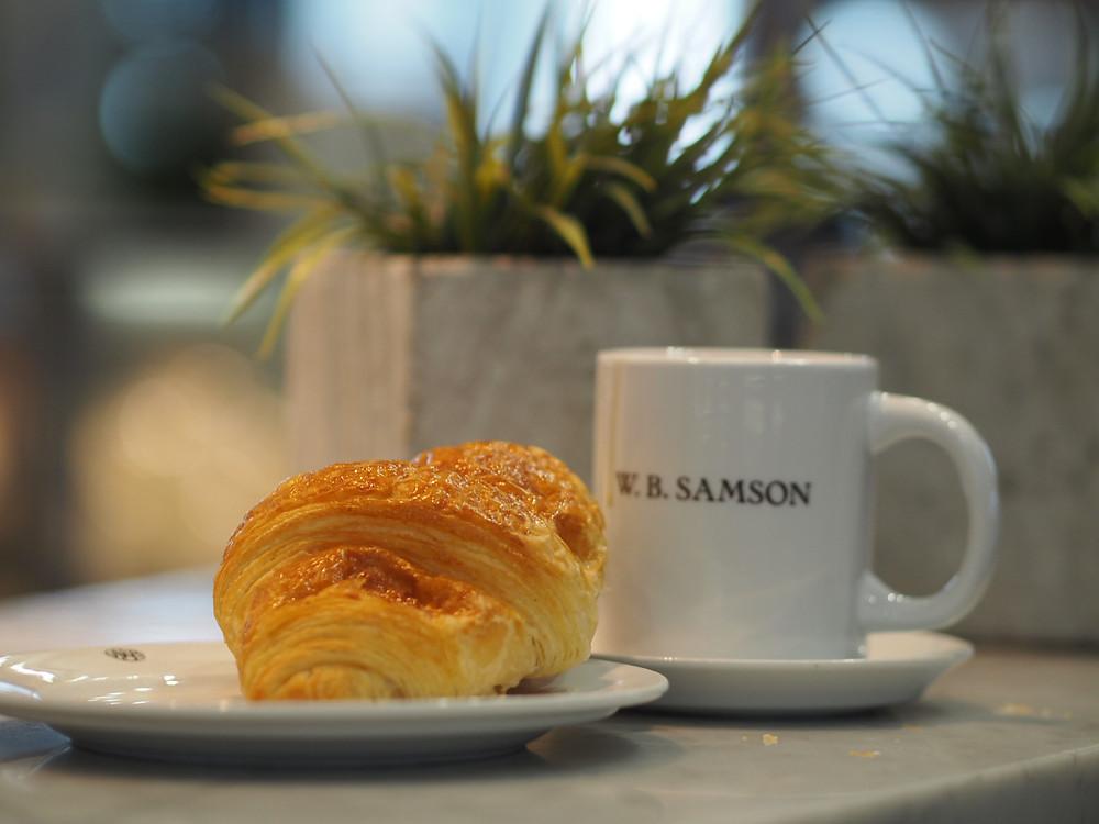 Kaffe på W. B. Samson