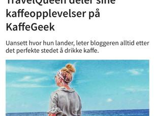 Jeg skriver for Kaffegeek