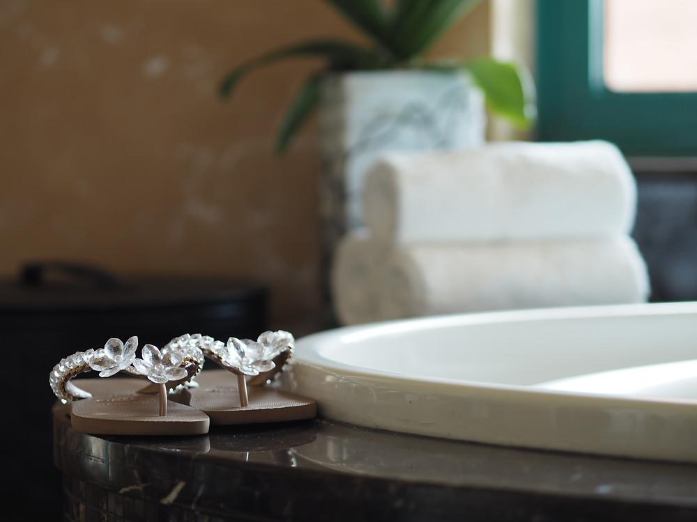 Detaljer fra badet mitt
