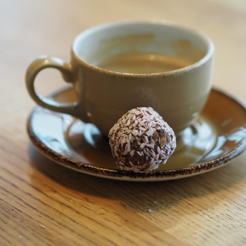 Kaffe på Gardermoen