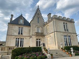 Vin og kaker i Bordeaux