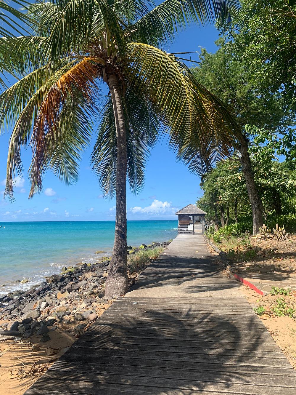 Du bestiller tur til Guadeloupe via Langley