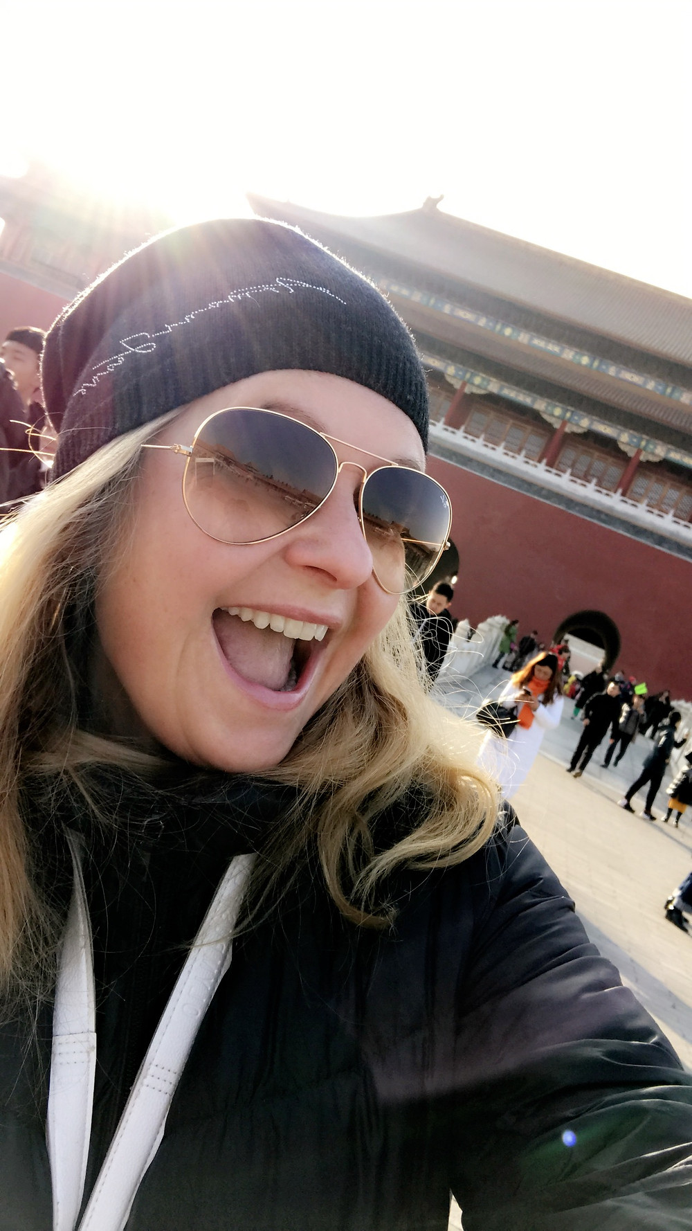 www.travelqueen.no in The forbidden city in Beijing, China