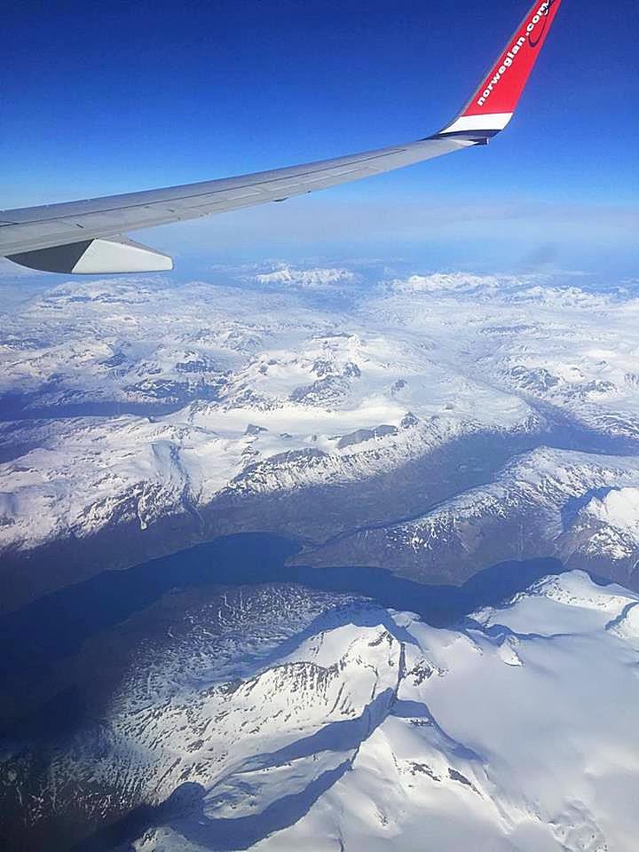 On my way to Tromsø