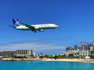 Spektakulære landinger på St. Maarten