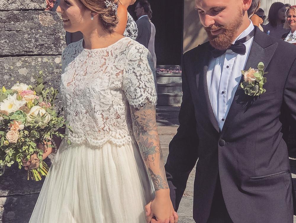Vakkert brudepar