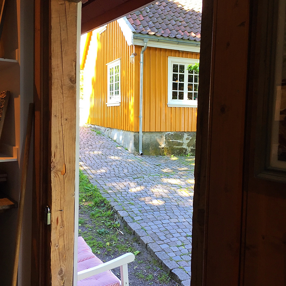 Munchs house in Åsgårdstrand