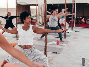 Yoga og ørkenvandring i Marokko