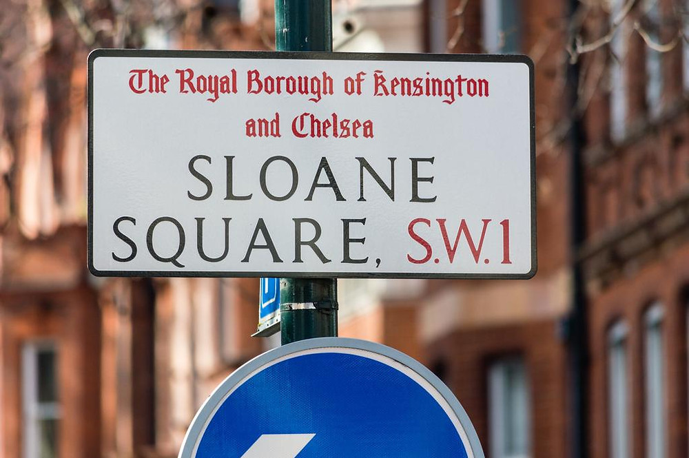Sloane square, London