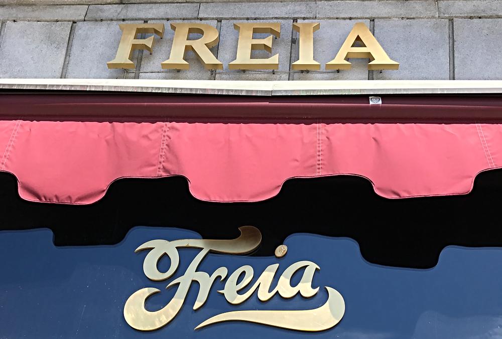 Freia Flagshipstore at Karl Johan