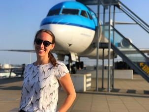 Grønn turist med KLM!