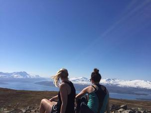Mountain tracking in Tromsø