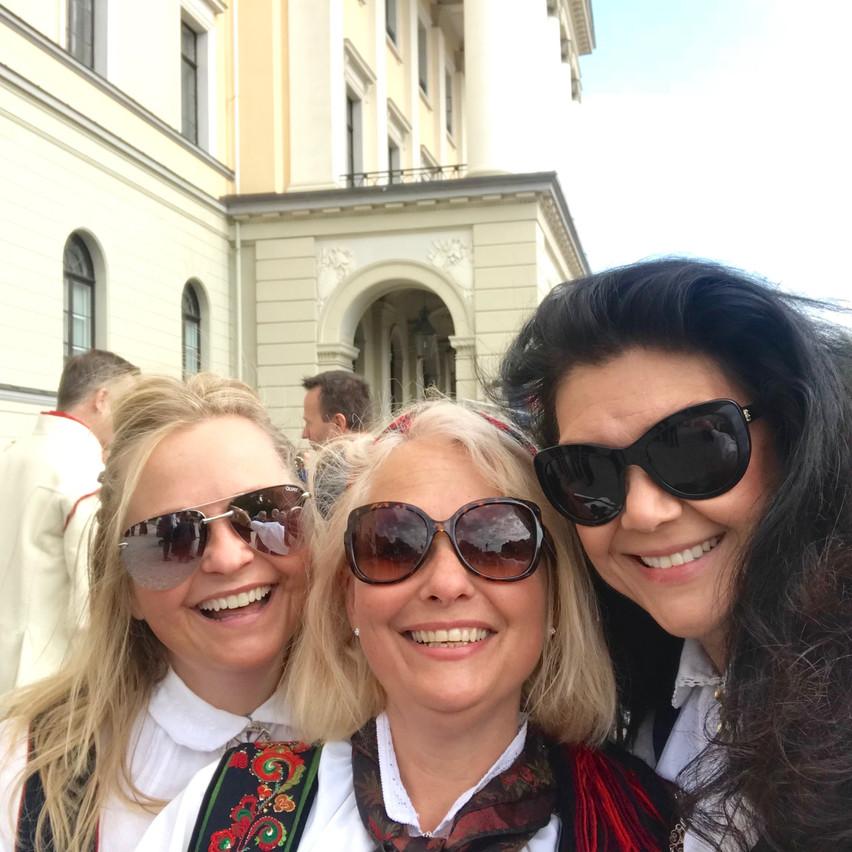Tre flotte Drammens-jenter!