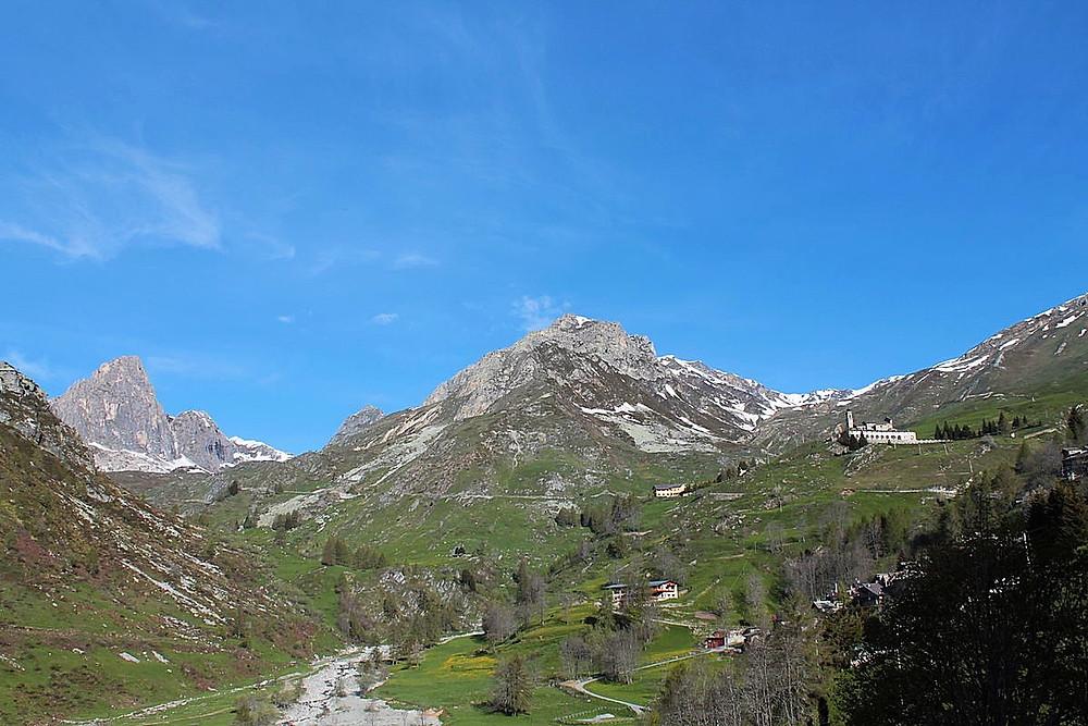 Townof Castelmagno in Piemonte