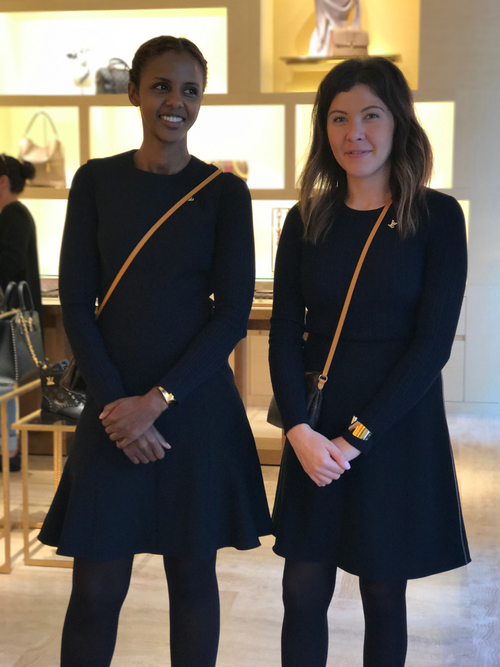 My favorite staff at Louis Vuitton in Oslo