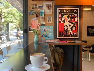 Kaffe og vintage hos Fuglen!
