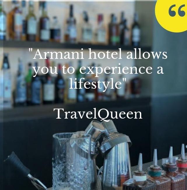 Armani Hotel in Milano