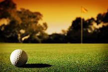 Evening golf ball