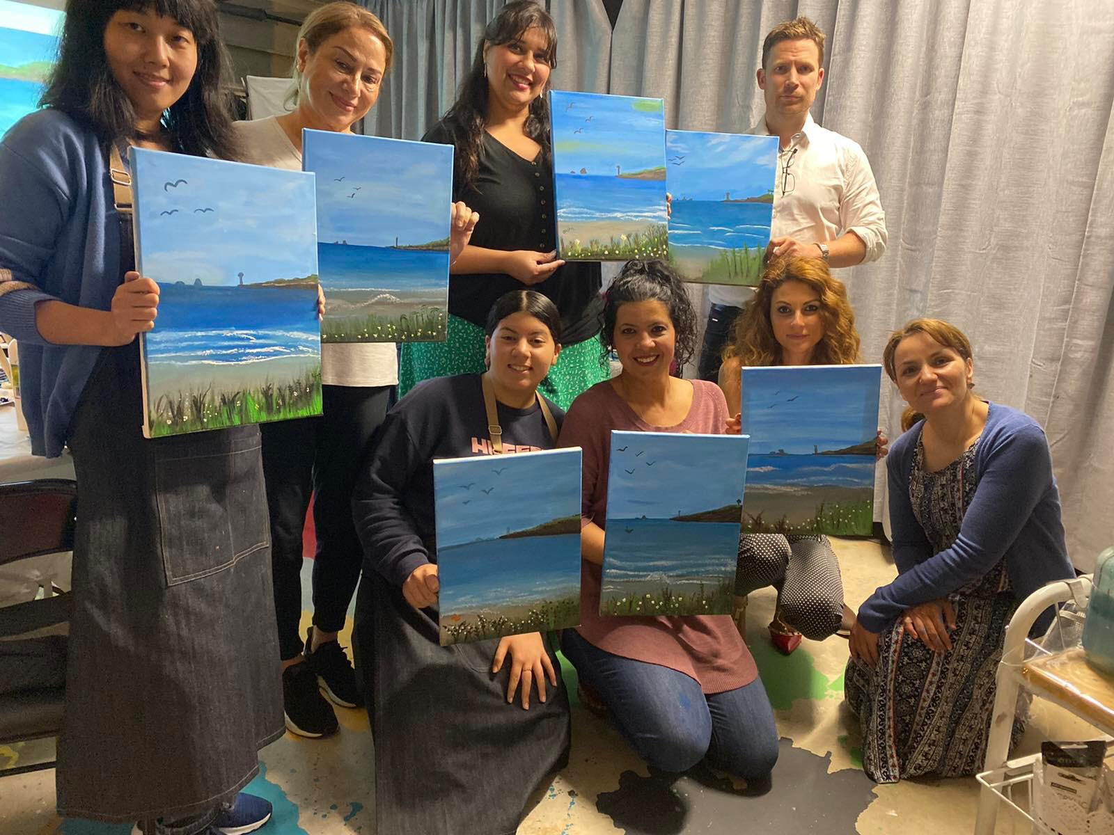 Adults Painting Classes -Term 3