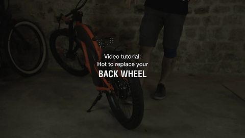 Rayvolt Bike - Wheel replacement Cruzer