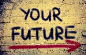 Your future w/arrow