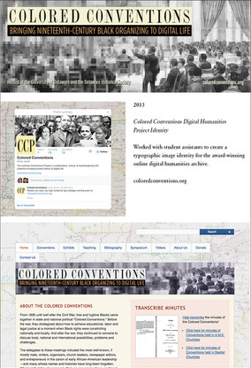 2013: Colored Conventions Digital Humanities Project
