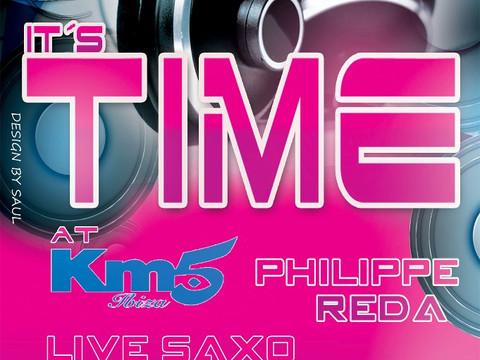 DJ set avec R.JAM aka Philippe Reda & Yann Vedra, Deva @ It's Time @ KM5 @ Ibiza