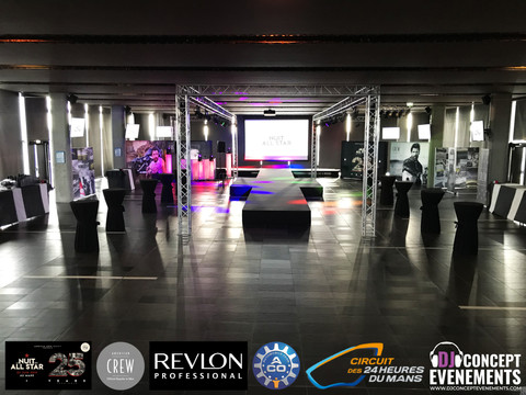 La Nuit des All Star 2019 by The American Crew Society / Revlon Professional @ Le Welcome @ Circuit
