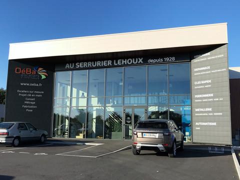 Inauguration du nouveau bâtiment Au Serrurier Lehoux @ ZAC des Hunaudières @ Ruaudin (72230). Remerc