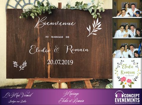 Superbe mariage @ Le Mas Vermeil @ Souligné sous ballon (72340). Félicitations et tous nos vœux de b