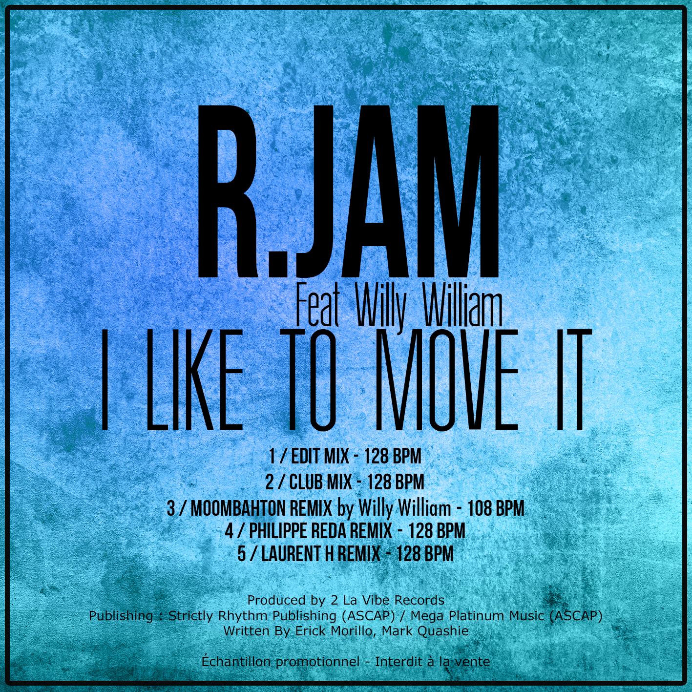 "R.JAM Feat WILLY WILIAM ""I like to m"