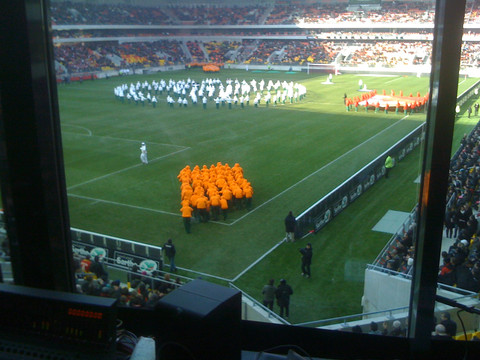 MMArena - Inauguration avec Le Mans FC...