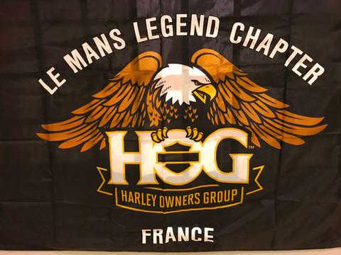 Soirée dansante « Le Mans Legend Chapter » - Club Moto - Concession Harley Davidson.  Belle soirée a
