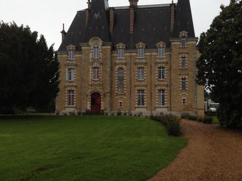 Anniversaire de Jacqueline @ Château de Montbraye (72250 Parigné-l'Évêque)... Remerciements à Ja