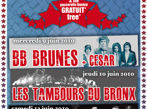 24 Heures du Mans 2010…Warm up Concerts, UB40, BB Brunes, Les Tambours du Bronx, R.JAM aka Philippe