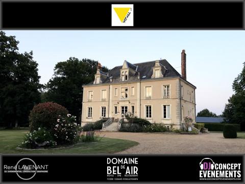 Soirée entreprise VIT'ALL+ @ Domaine de Bel Air (72) avec DJ CONCEPT EVENEMENTS