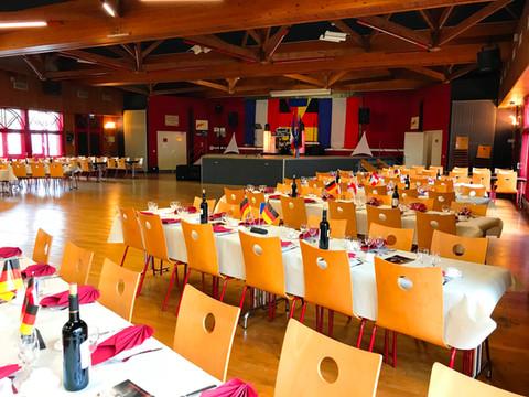 Soirée de Gala Franco-Allemande avec le Comité de jumelage des Sapeurs-Pompiers du Mans et de Paderb