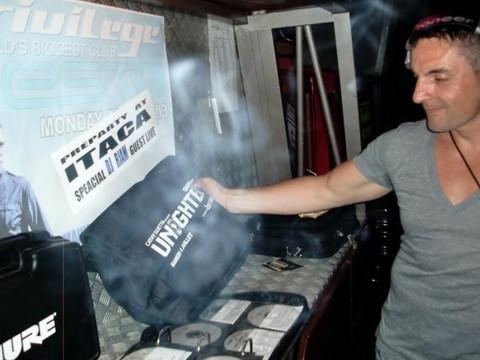 DJ set avec R.JAM aka Philippe Reda & Yann Vedra @ pre party of Tiesto @ Itaca @ Ibiza