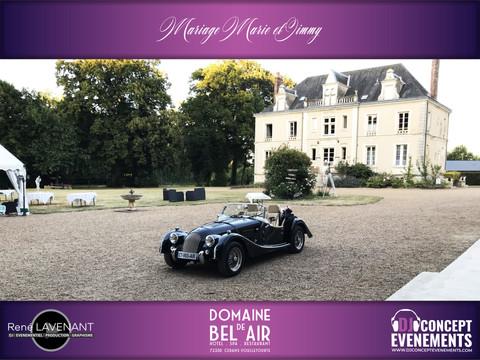 Mariage Marie et Jimmy @ Domaine de Bel Air (72) avec DJ CONCEPT EVENEMENTS