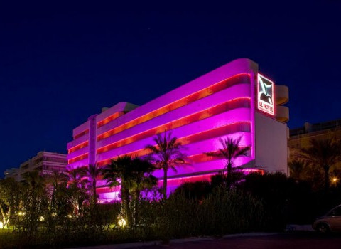 DJ set avec R.JAM aka Philippe Reda & Yann Vedra, Gaty, Joan & Yves... @ El Hotel @ Ibiza