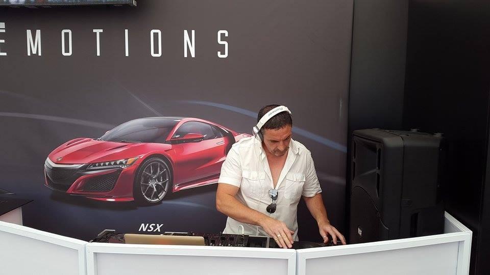 DJ Evénementiel d'entreprise @ 24h Le Mans 2015 @ Espace Honda