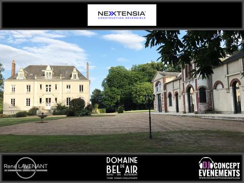 Soirée entreprise NEXTENSIA @ Domaine de Bel Air (72) avec DJ CONCEPT EVENEMENTS