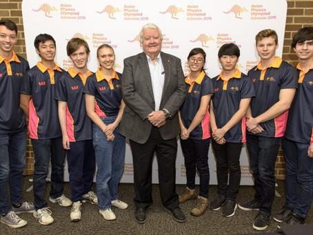 2019 Australian Team announced for the 20th Asian Physics Olympiad