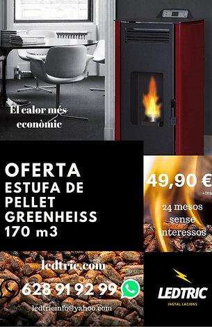 ESTUFA DE PELLET 7 KW