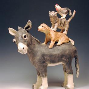 donkey musicians