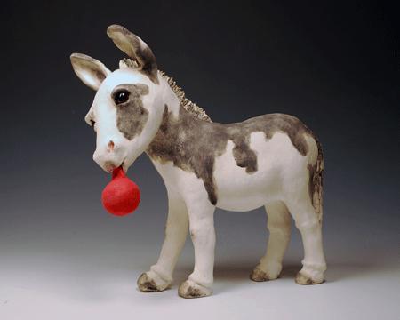 Lucinda's donkey