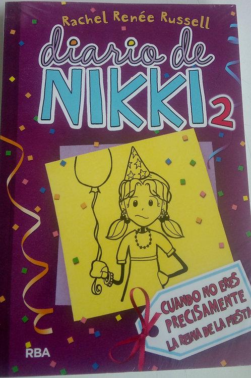Diario de Nikki 2 Cuando no eres precisamente la reina de la fiesta