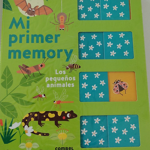 Mi primer memory - Los pequeños animales