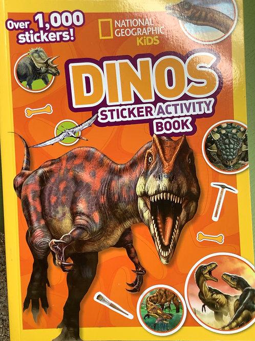 Dinos - Sticker Activity Book
